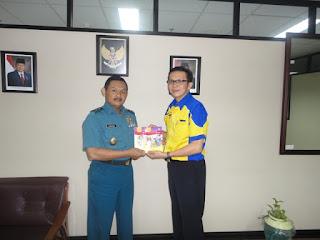 Sofian Tjandra Kerjasama dengan Santoso Laksda TNI dalam Program Komik National Character Building