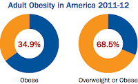 Obesity in the USA, from the Obesity Rates & Trends Overview web site
