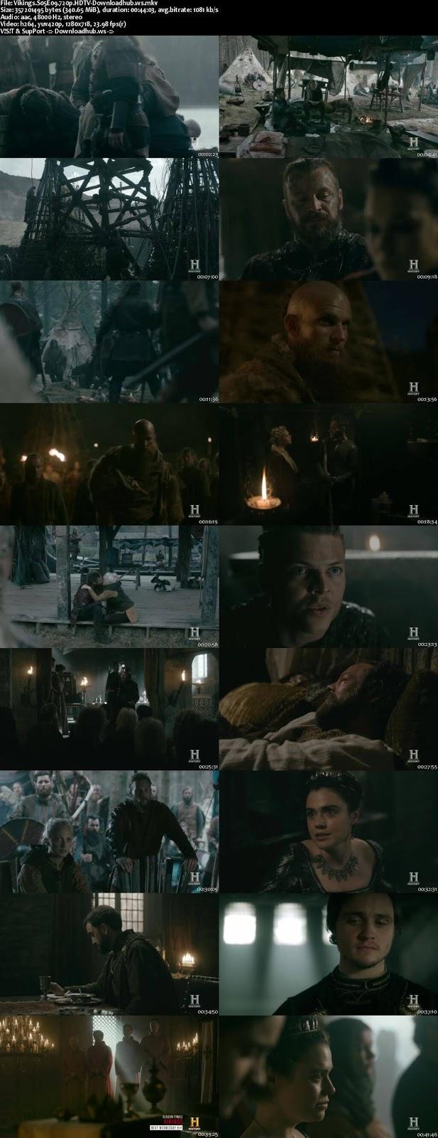 Vikings S05E09 340MB  720p