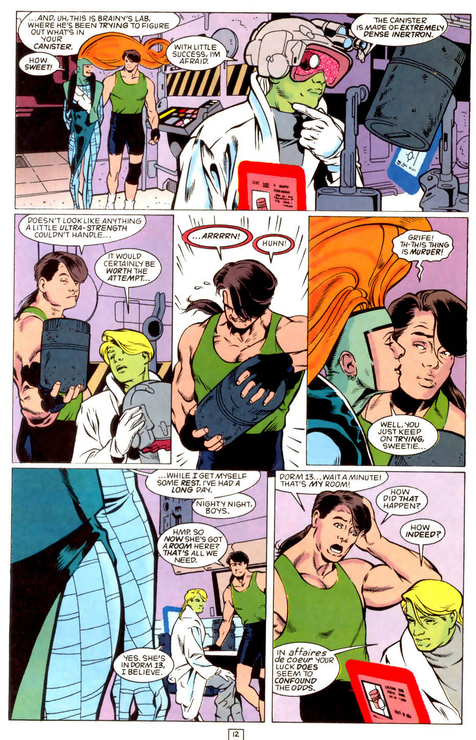 Legion of Super-Heroes (1989) 43 Page 12