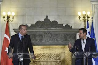 Τσιπρας σε Ερντογαν «Έχουμε προχωρήσει σε ανακατασκευή τζαμιών στην Μυτιλήνη και στην Μήθυμνα»-Τι ειπώθηκε για μεταναστευτικό και την αποσυμφόρηση