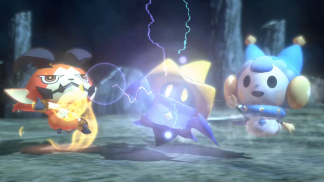 World of Final Fantasy Black Mage screenshot chibi super-deformed