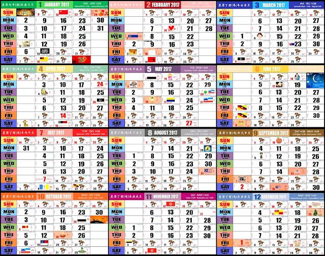 cuti umum malaysia 2017 berikut adalah senarai cuti umum di malaysia ...