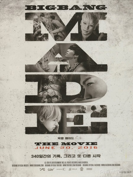MADE - BIGBANG - Big Bang Made the Movie (2016)