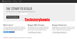 how to create and add google sitemap to your blogger blog bleedbytes