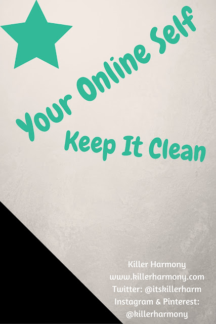 Your Online Self: Keep it Clean (+ How I Do It) | It's great to be yourself, but somethings are okay to be kept secret. You want your profile to be clear of anything that might negatively affect you in the future. People use Google. They will find that picture of you chugging a beer. Don't do it. You don't have to post anything and everything.