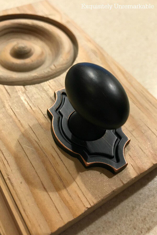 Decorative Knob As Hook