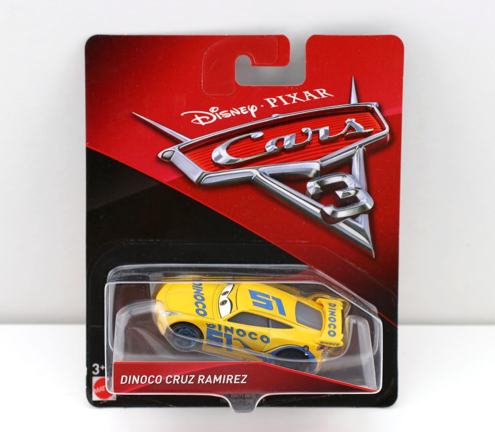 Cars 3 Dinoco Cruz Ramirez mattel diecast