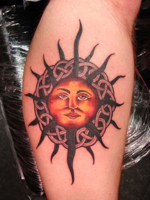 güneş dövmeleri sun tattoos 26