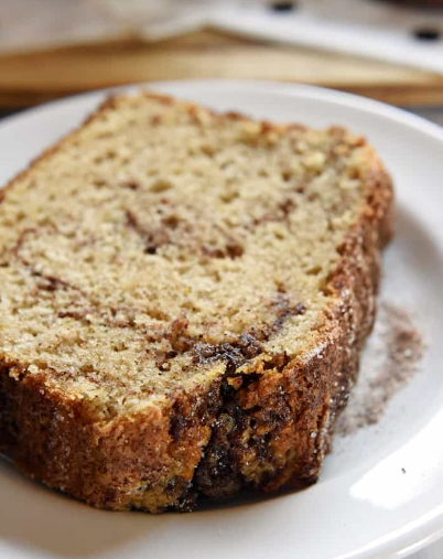 CINNAMON BREAD (NO YEAST QUICK BREAD)