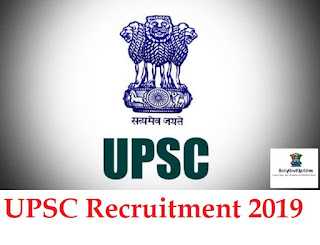 UPSC Recruitment 2019| For 392 NDA & NA (I) Exam Online Form - DailyGovtUpdates.In