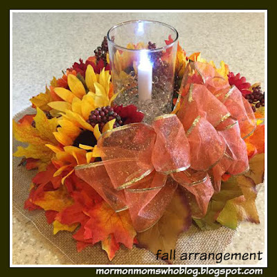 Beautiful Thanksgiving or Fall Floral Arrangements