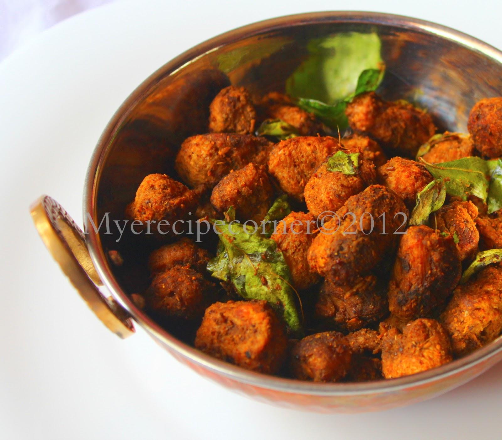 Mye S Kitchen Mealmaker Fry Soya Chunks Varuval