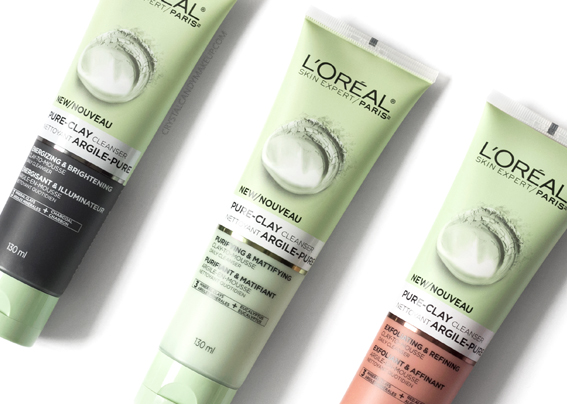 L'Oreal Paris Pure-Clay Daily Cleansers Review