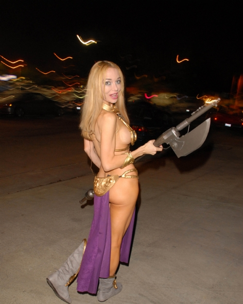 Leia Costume Slave Porn 58