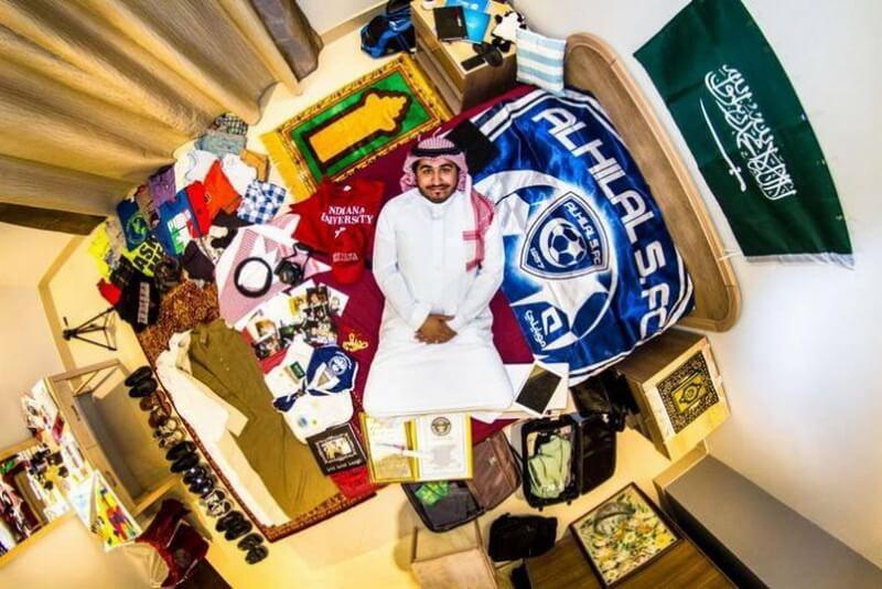 غرفة نوم من الرياض, المملكة العربية السعودية