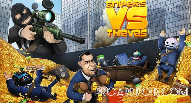 لعبة Snipers vs Thieves v1.21.23507 مهكرة كاملة للاندرويد (اخر اصدار) logo