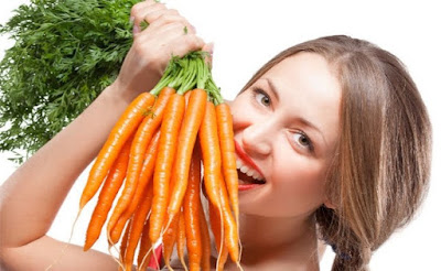 Carrots for glowing skin
