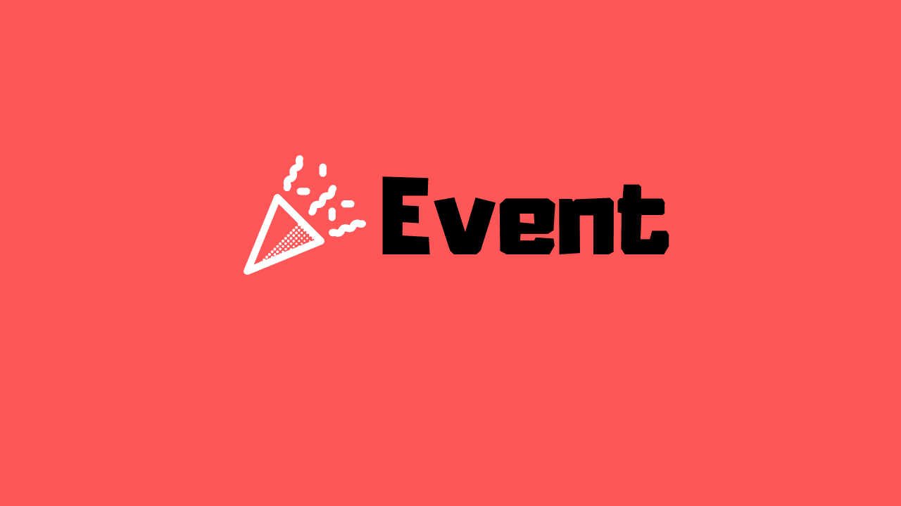 new event submission links