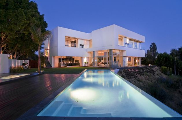 Luxury House In West Hollywood Los Angeles California Usa