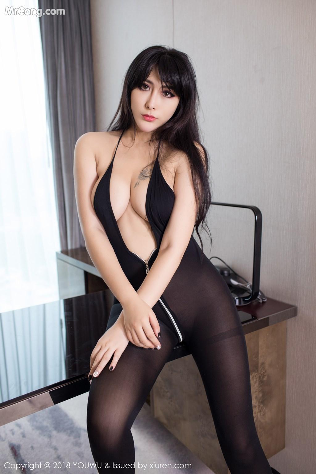 Image YouWu-Vol.113-FoxYini-MrCong.com-001 in post YouWu Vol.113: Người mẫu FoxYini (孟狐狸) (43 ảnh)