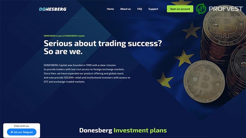 Donesberg обзор и отзывы HYIP-проекта