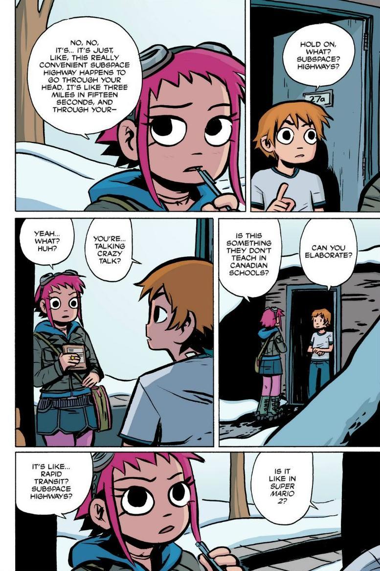 Read online Scott Pilgrim comic -  Issue #1 - 75