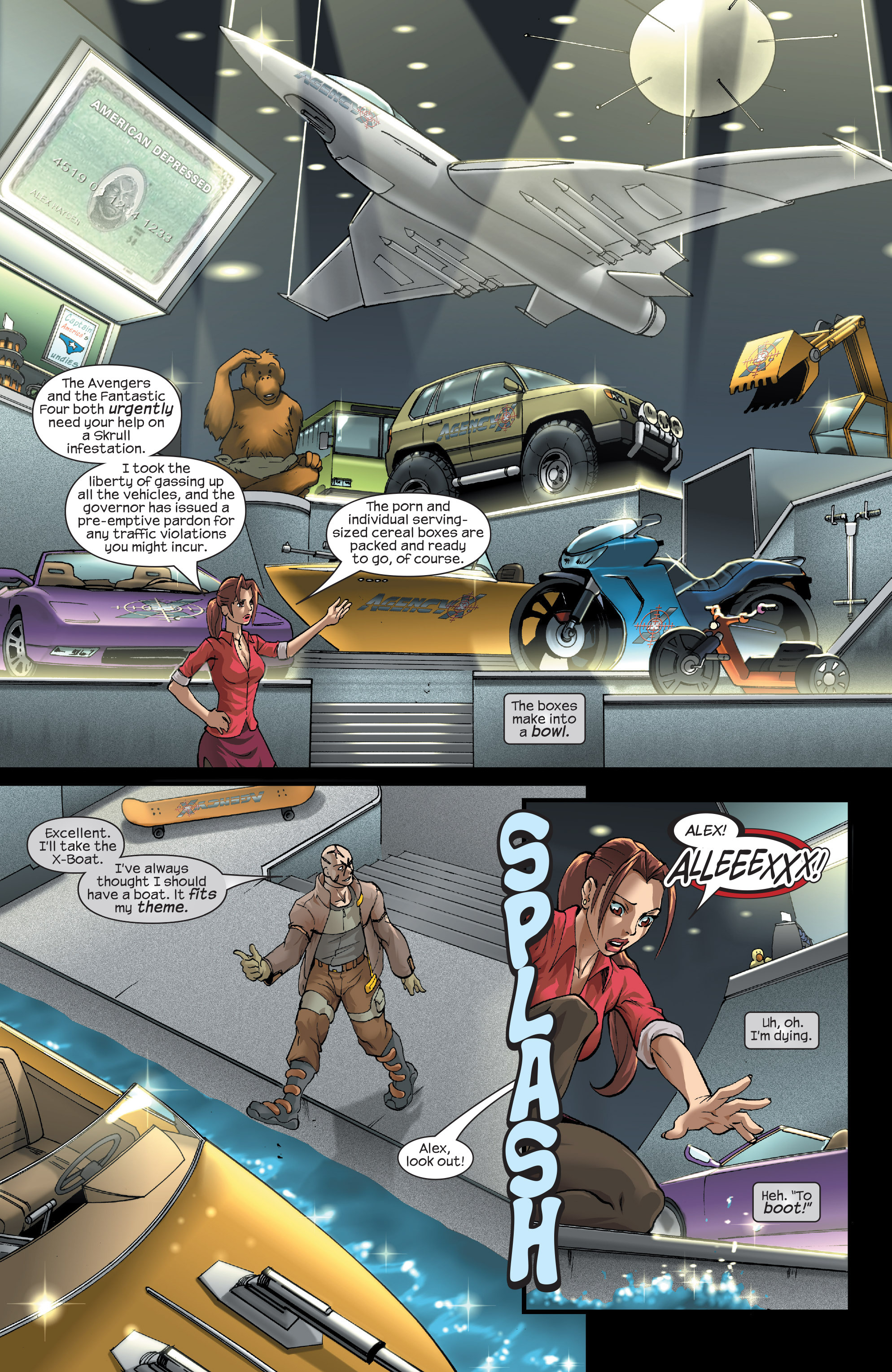Read online Agent X comic -  Issue #15 - 4