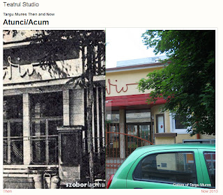 Teatrul Studio, Tirgu-Mures - Then and Now