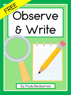 https://www.teacherspayteachers.com/Product/Observe-and-Write-Free-Writing-Paper-3071742