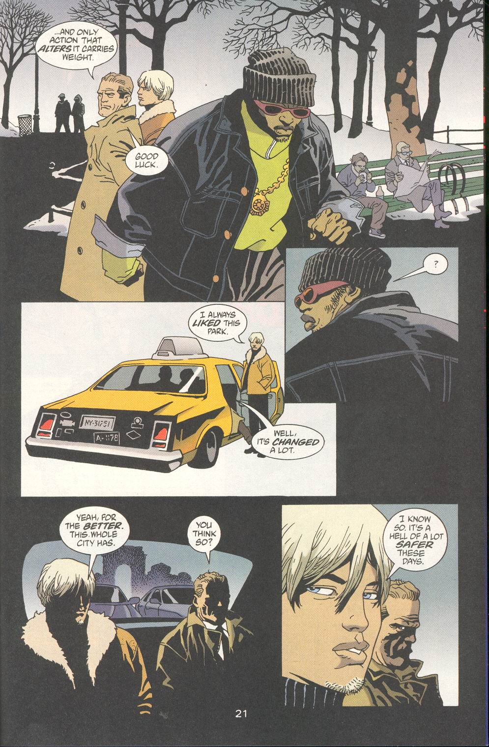 Read online 100 Bullets comic -  Issue #20 - 23