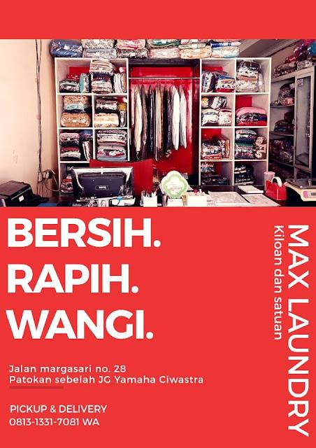 Lowongan Kerja Max Laundry Bandung