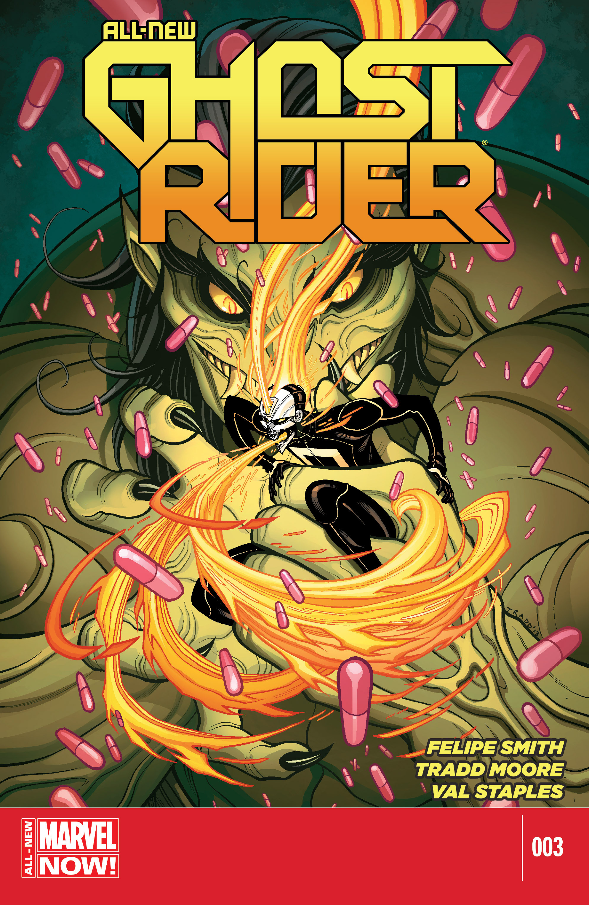 Read online All-New Ghost Rider comic -  Issue #3 - 1