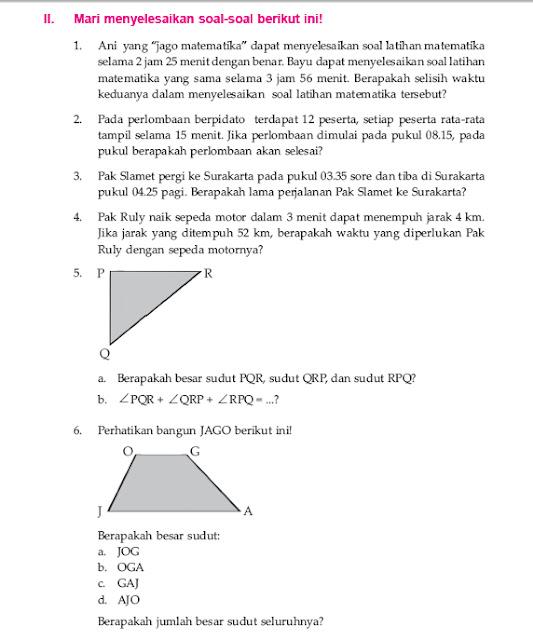 Ayo Belajar: matematika sd kelas 5 semester genap