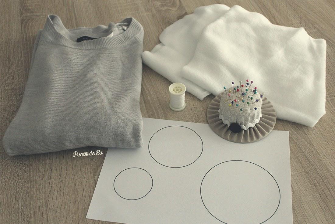 Customiza tu jersey con círculos de tela