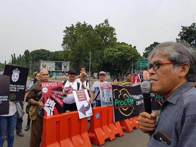 Paskah Irianto: Pemerintahan Jokowi-JK Berbohong Terus