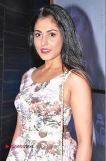 Actress Madhu Shalini Stills in Floral Short Dress at RGV Shiva to Vangaveeti Event  0088.JPG