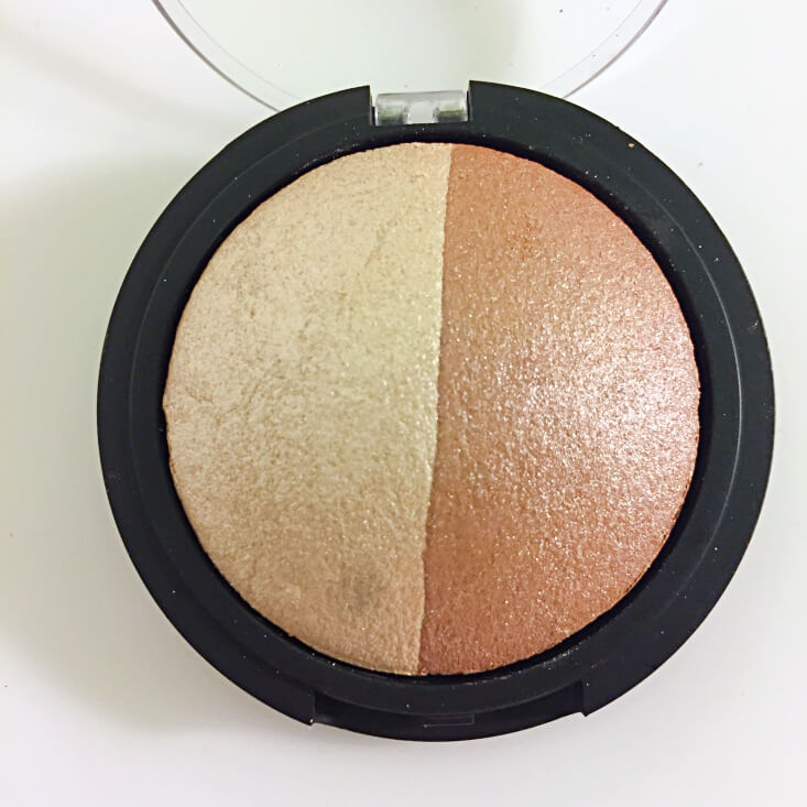 e.l.f. Baked Highlighter & Bronzer in Bronzed Glow