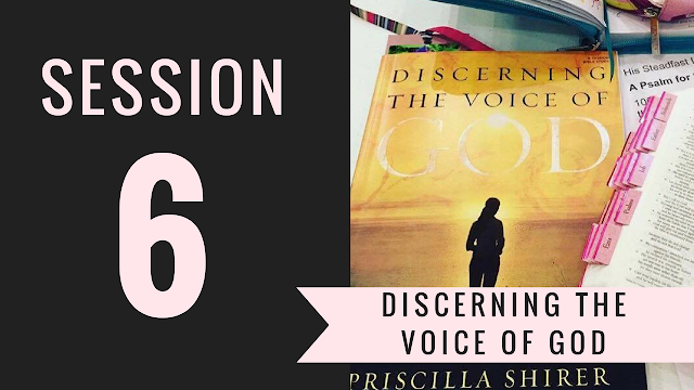 Session 6 - Discerning the Voice of God Bible Study