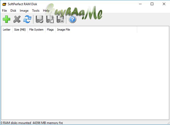 SoftPerfect RAM Disk full