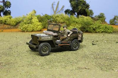 Jeep willys 1/48 Tamiya au 1/48.