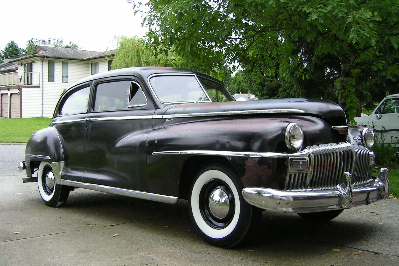 All American Classic Cars 1948 Desoto Custom 2 Door