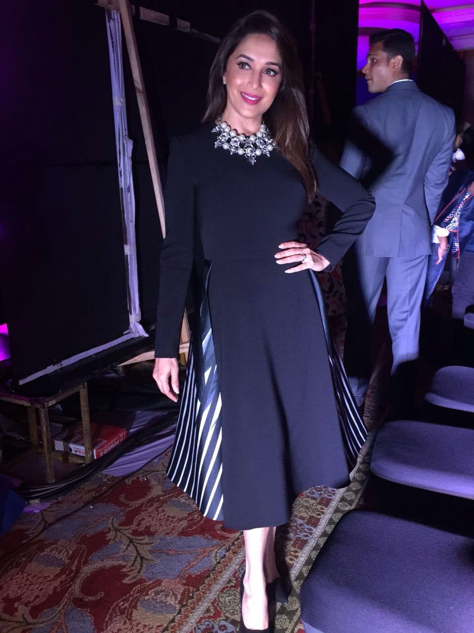 aba62d836a SPOTTED! Madhuri Dixit in Velvetcase and Intoto - Shopping