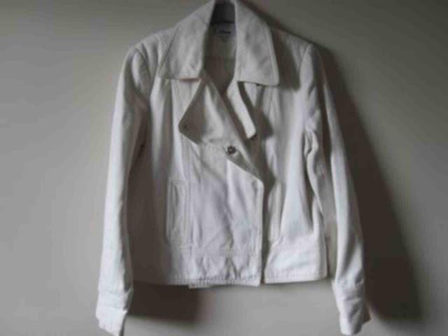manteau caban blanc etam