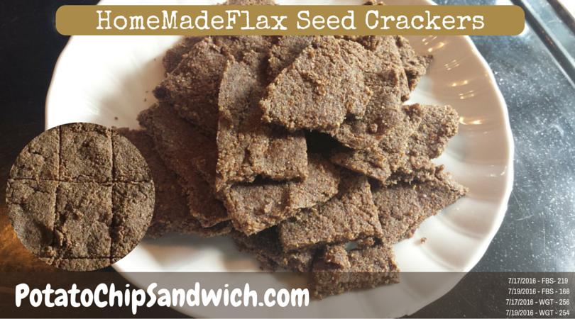 Keto Flax Seed Crackers