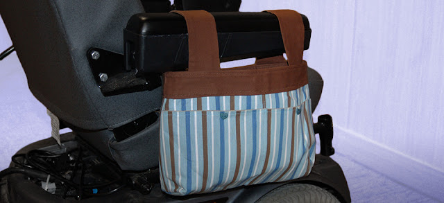 power wheelchair bags
