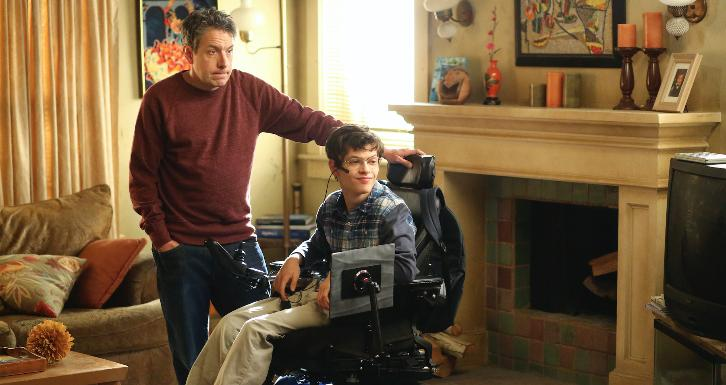 Speechless - Episode 1.13 - S-I--SICK D-A--DAY - Promotional Photos & Press Release