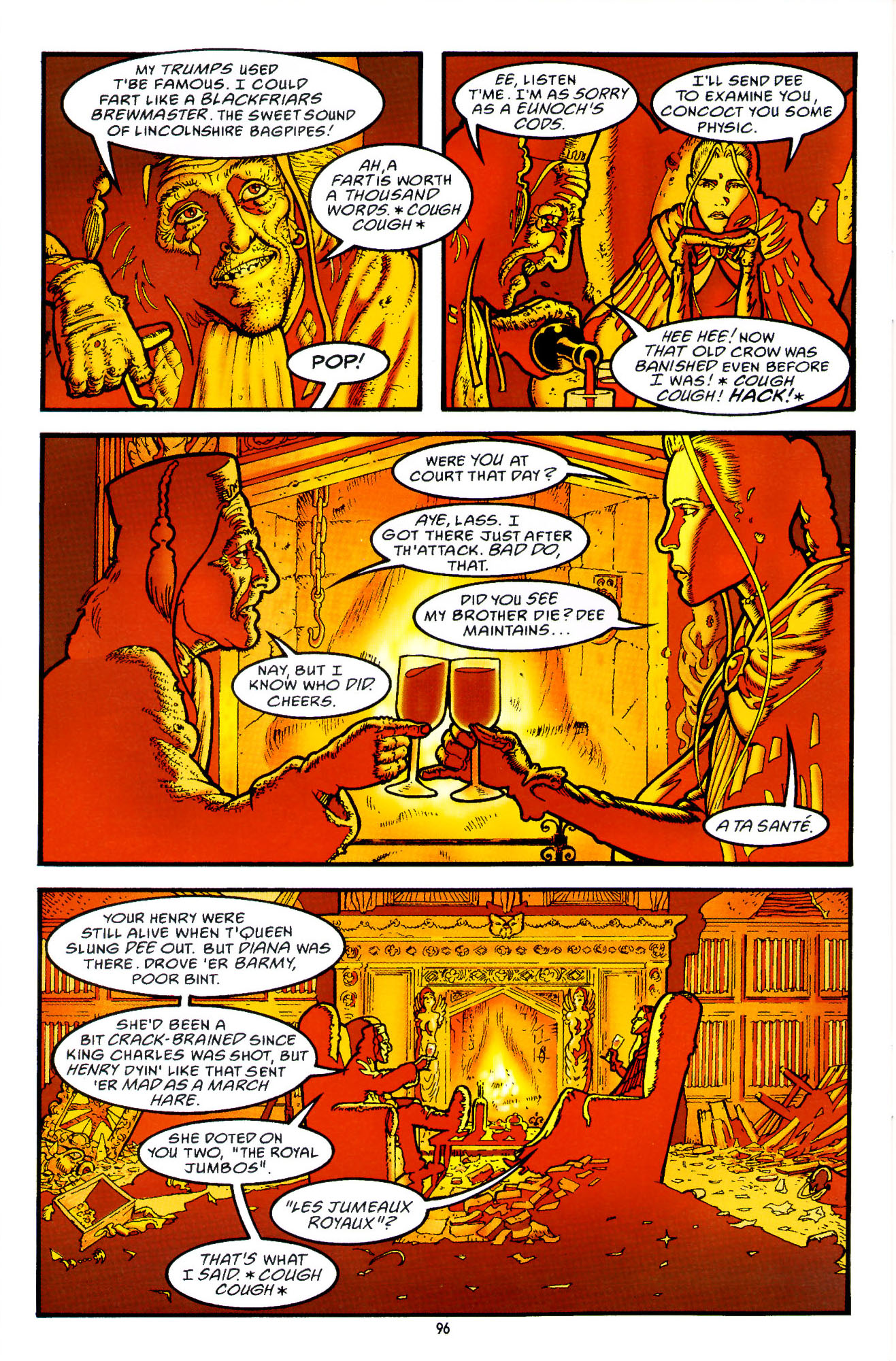 Read online Heart of Empire comic -  Issue #3 - 38