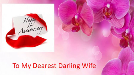Romantics Anniversary Wishes & Quotes for Lovely Wife