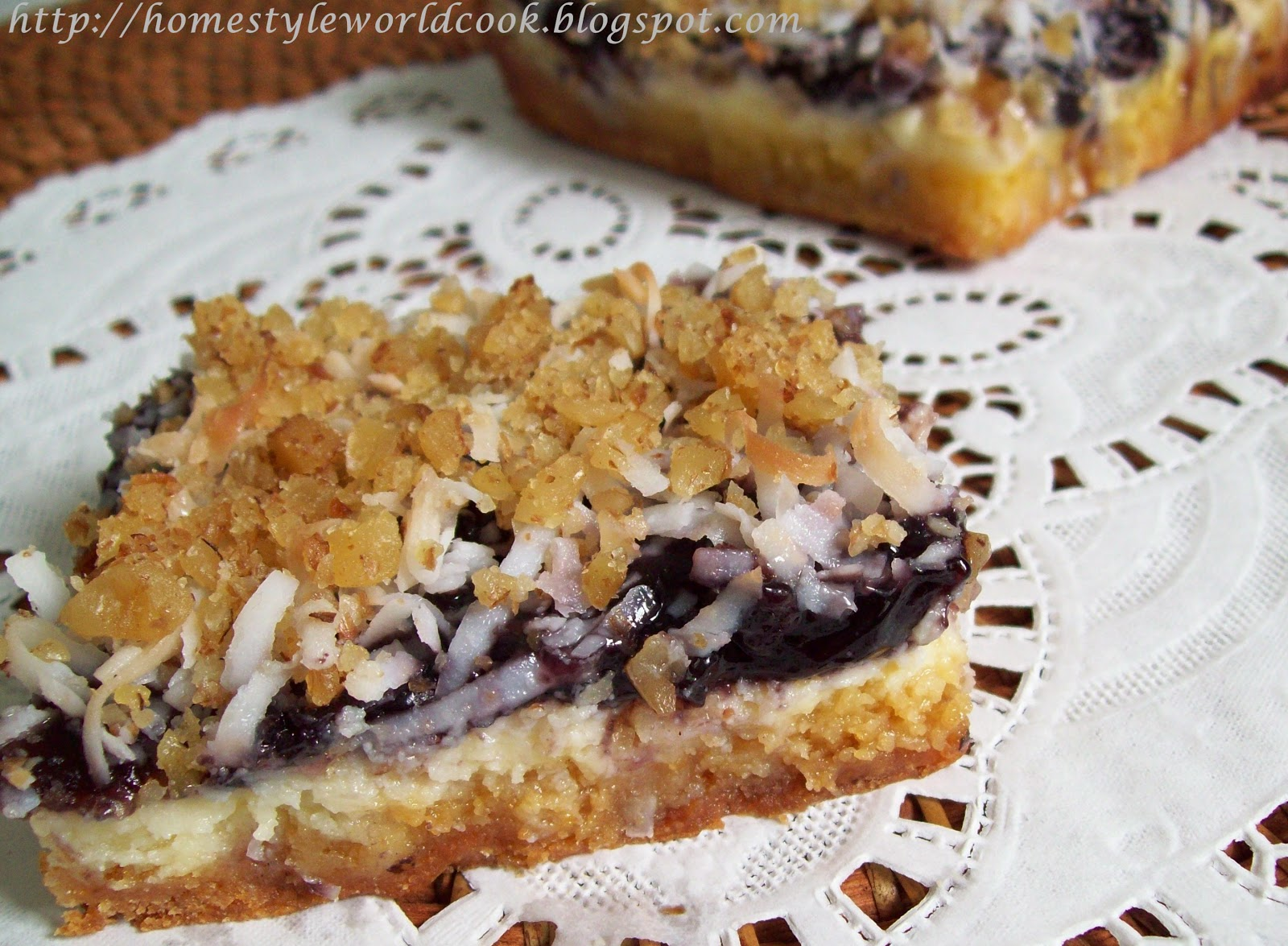 Blueberry Fantasia Bars